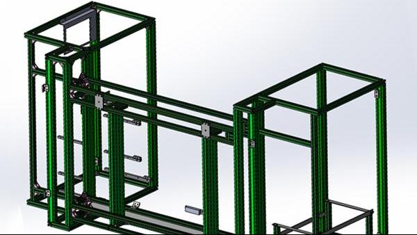 工业铝型材框架搭建有哪些步骤?