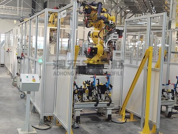 工业设备安全围栏