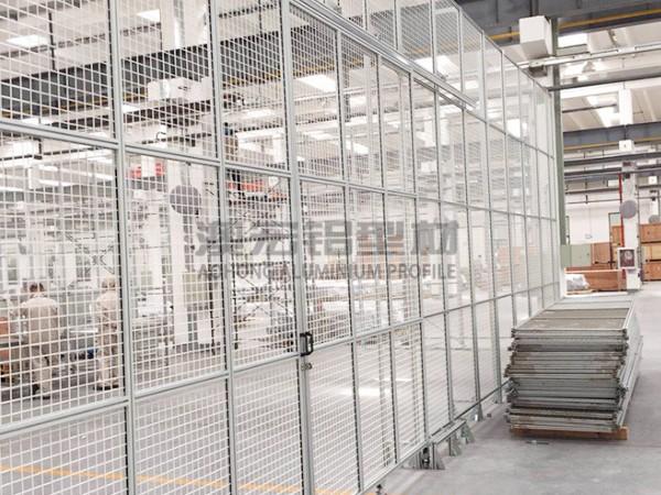 网格工业防护围栏
