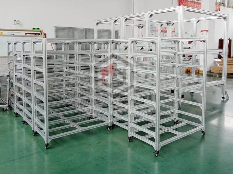 4040工业铝型材可以做展示柜吗?