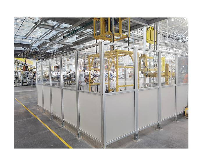 使用铝型材隔离围栏的好处