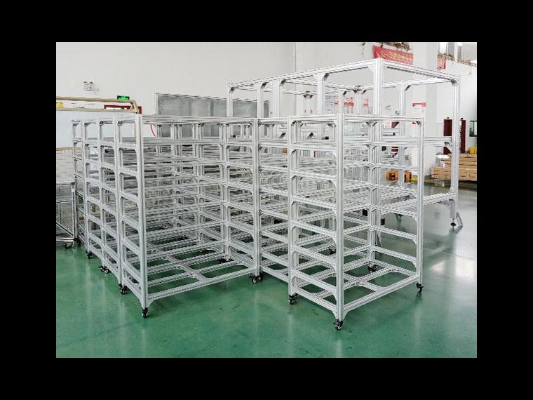 工业铝型材框架组成部分有哪些?