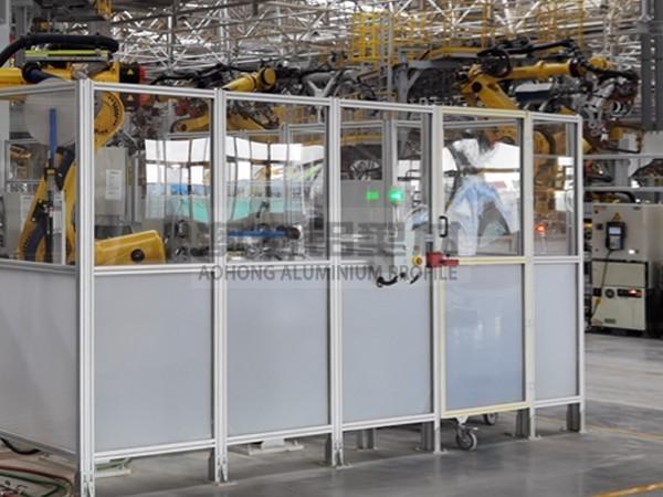 工业安全门铝型材