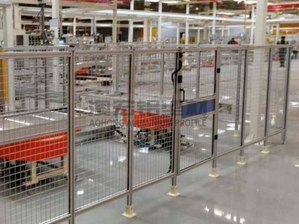 自闭式安全门铝型材