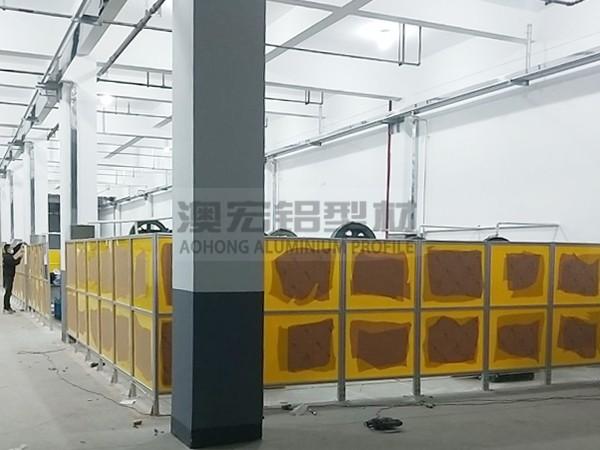 工厂车间电箱防护围栏