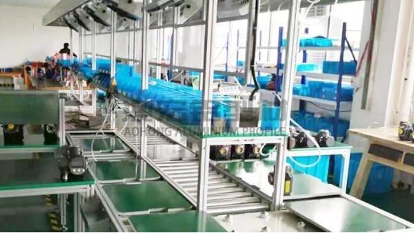 铝型材接驳台的加工定制