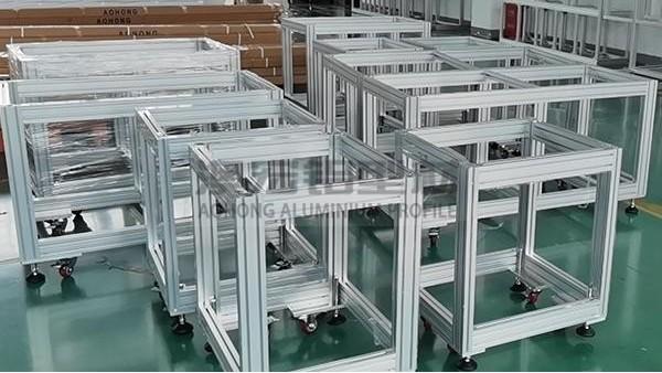 铝型材框架加工关键点
