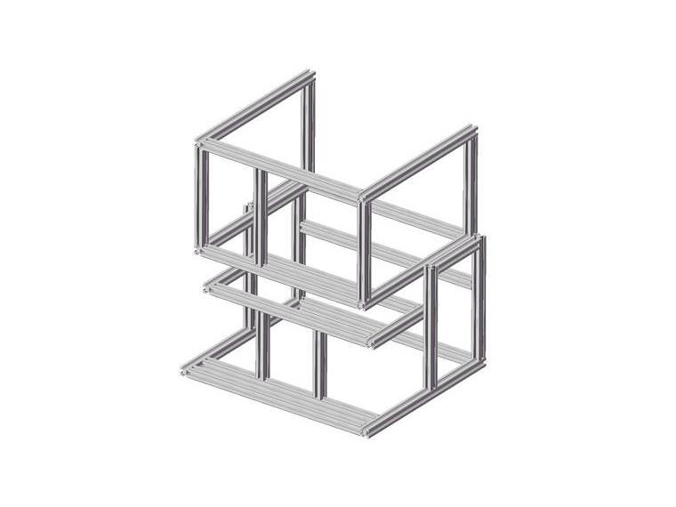 铝型材框架三维模拟图的重要性