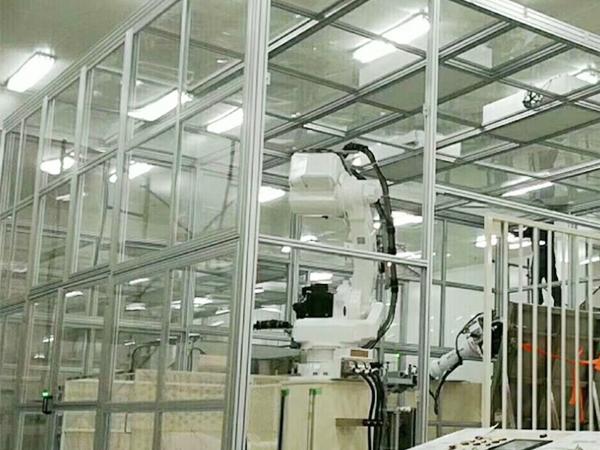 工厂铝型材防护罩