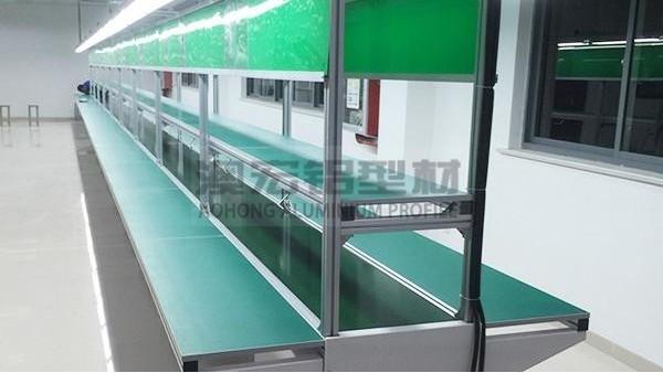 铝型材系列知识之自动化流水线哪些需要用到铝型材
