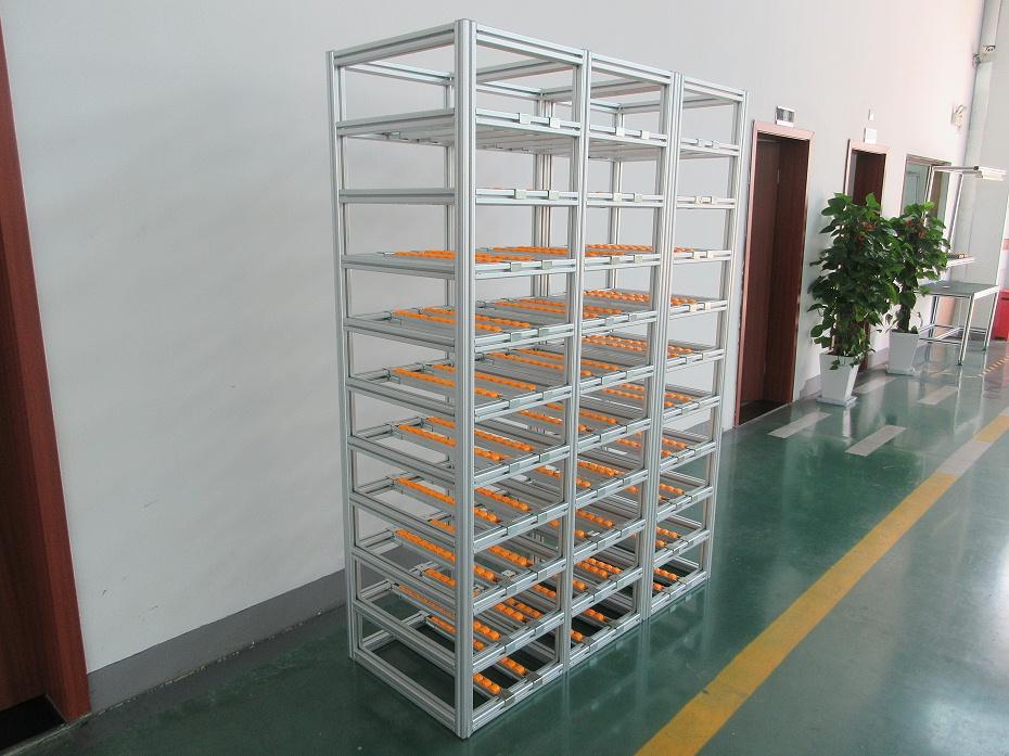 多功能铝型材流利架