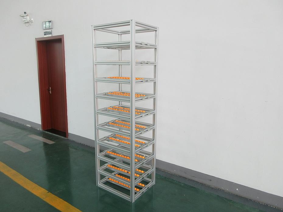 铝型材输送流利铝机架