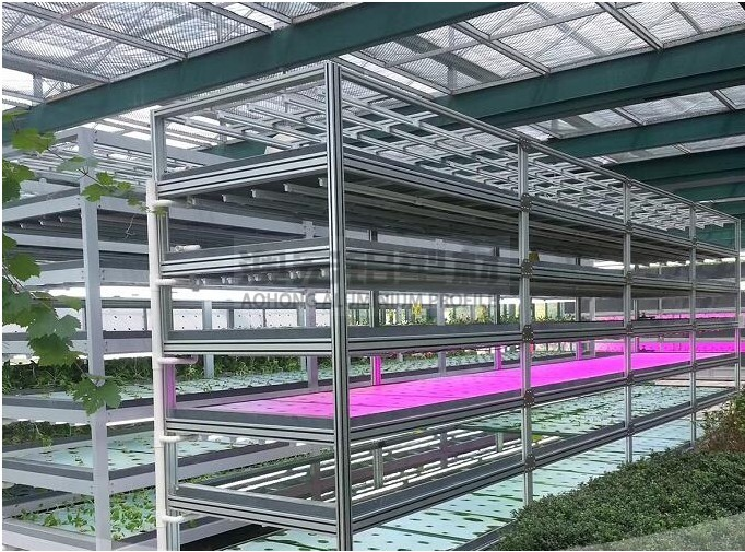 无土种植铝型材框架